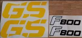 2008 F800 GS decals stickers graphics