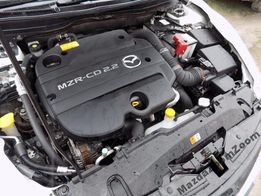Mazda 3 6 CX-7 2,2D CiTD MZR-CD R2AA Silnik jak nowy +montaż i holowa