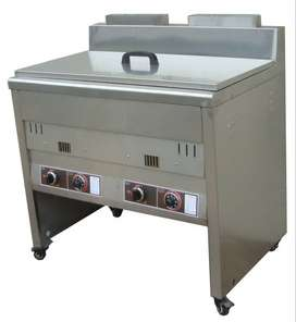 1x40L FLOOR STANDING GAS FRYER WITH TEMPERATURE CONTROL (GAS)