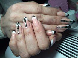 Наращивание ногтей, покрытие гель-лак, маникюр, педикюр в Ханженково