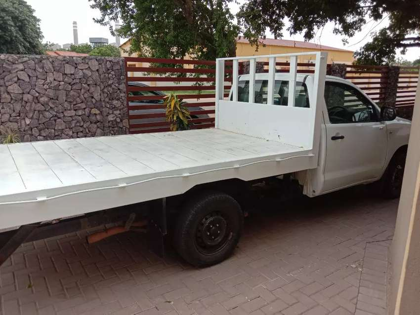Flat back bakkie for hire... 0