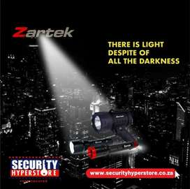 Shop the ZARTEK range of lamps and torches