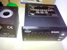 Autonics TC3YF контроллер холодильных установок. Терморегулятор.