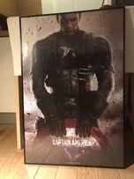 Plakat Kapitan America