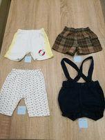 Ubranka dla chłopca, rozmiary różne, 6 szt.,pajacyk, spodnie, spodenki
