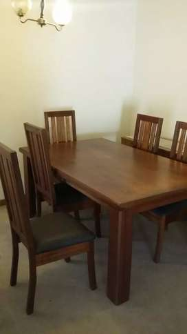 True Wood 6 seater table