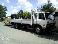 Image of 8Ton Truck with trailer for hire.