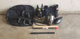 2x paintball kits