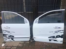 Ford ranger T 7 front left and right complete doors