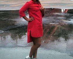 рубаха -платье ,Waggon Paris