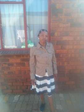 Maid/nanny from Lesotho with refs needs strictly sleep in work