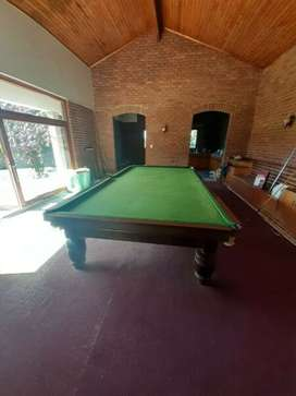 Large Thruston snooker table for sale