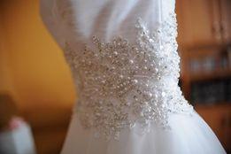 Suknia ślubna+kolczyki gratis OKAZJA