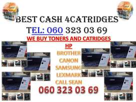 CASH FOR TONERS