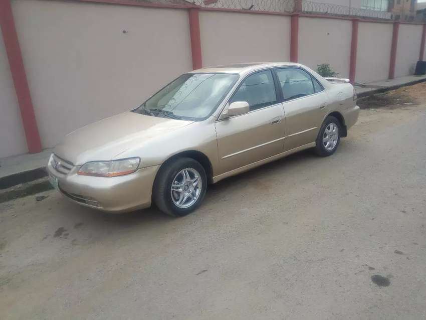 Clean Gold Honda Accord Baby Boy  2001 Model Available 0