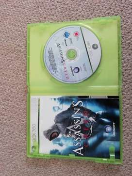 Xbox 360 (Assassins creed) game for Sale