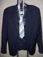H&M nowa marynarka+dwa krawatay i koszula