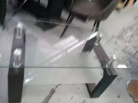 Brand new Glass coffee table of excellent quality in boxes.