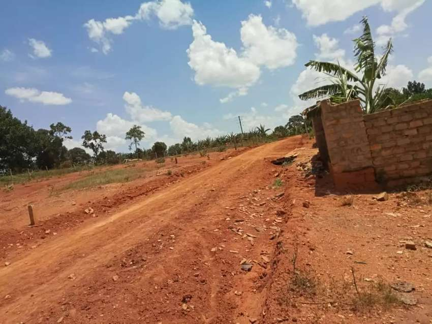 Very good plot quick sale in buloba near main rd only 16.5m shs title 0