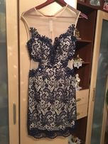 Плаття розкішне, вечірнє, Італія макраме нове