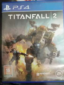 Titanfall 2 for PS4 for sale.