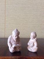 Глиняные статуэтки «Мудрец и певец»