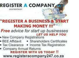 COMPANY REGISTRATIONS IN DURBAN,TAX CLEARANCE,BBBEE,SHARE,CERTIFICATE