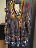 Sukienka NOWA wzory rozmiar uniwersalny