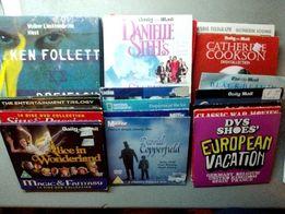 DVD диски с фильмами на англ. языке - 100 шт. + подарок