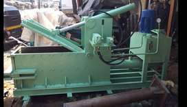 Subgrade/metal crusher bailing machine