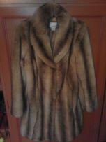 płaszcz damski futro