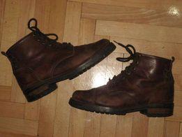 Кожаные ботинки р. 38-39