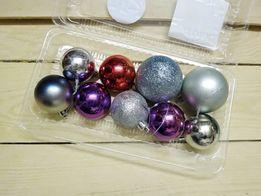 Набор новогодние игрушки шарики