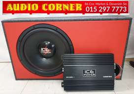 "Ice Power Combo Brand new 15"" Sub"