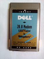 Модем PCMCI - РАРИТЕТ!!! + бонус модем PCI к ноутбуку.