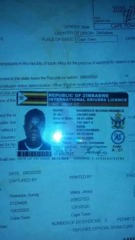 Hi everyone im looking for a job as a driver I have code 14 licence