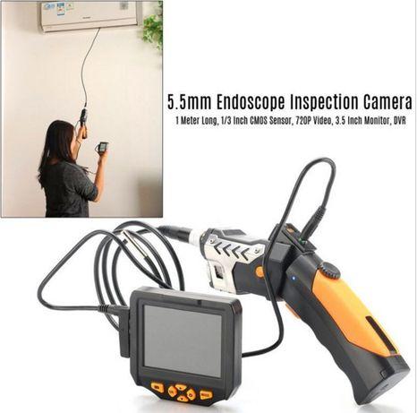 Видеоэндоскоп 1м 5,5 мм бороскоп цифровой эндоскоп видеоскоп NTS200 Южное - изображение 3