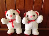 Image of Valentines Bears - 2 for R69.00- Brand New