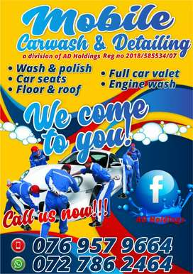 Mobile carwash