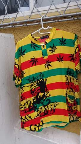 Rasta clothes and takkies