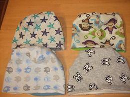NOWE Czapeczki, czapki dziecięce/niemowlęce - 42 i 44