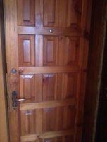 """Вхідні дерев""""яні лаковані двері (входные двери) 2000 грн."""