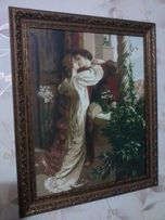 """вышитая картина """"Ромео и Джульетта"""" Фрэнка Дикси"""