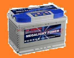 Akumulator Megalight 100Ah HIT ! AGM , jacht ,camper , łódź !dostawa!