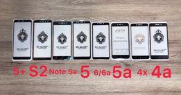 Стекло 3D Xiaomi 6/6A A1 A2 Mi9/8 Lite Mix 3/2s Max 2 Note 5/6/7 4x S2