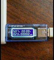 USB doctor тестер KWS V20 измеритель емкости амперметр вольтметр
