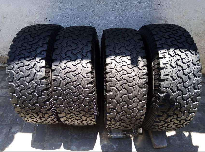265/65/17 BF Goodrich All Terrain Tyres