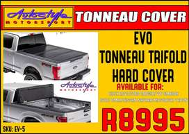 Evo Tonneau Trifold Hard Cover R8995  Available for  HILUX REVO - FORD