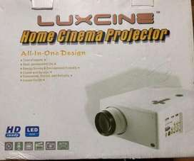Brand new Luxcine led home cinema projector