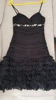 Suknia sukienka wieczorowa sylwester studniówka Bicici latino czarna
